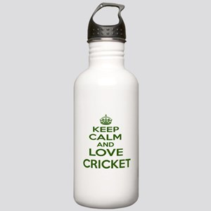 Keep calm and love Cri Stainless Water Bottle 1.0L