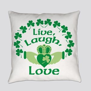 Live, Laugh, Love Everyday Pillow