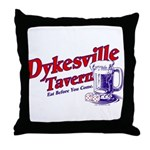 Dykesville Tavern Throw Pillow