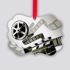 Retro Film Frames Picture Ornament