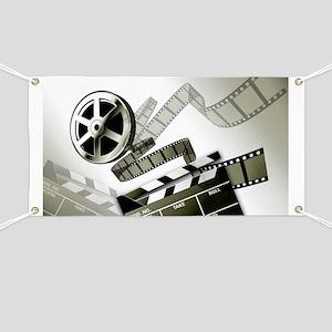 Retro Film Frames Banner