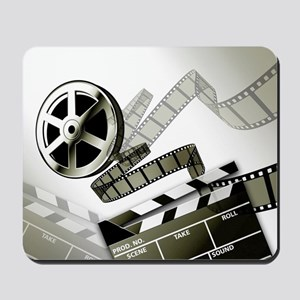 Retro Film Frames Mousepad