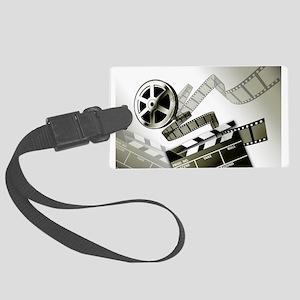 Retro Film Frames Large Luggage Tag