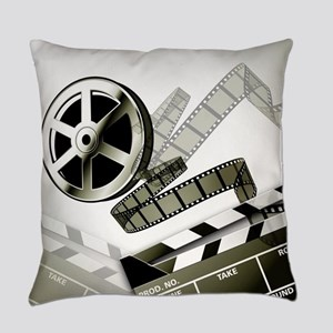 Retro Film Frames Everyday Pillow