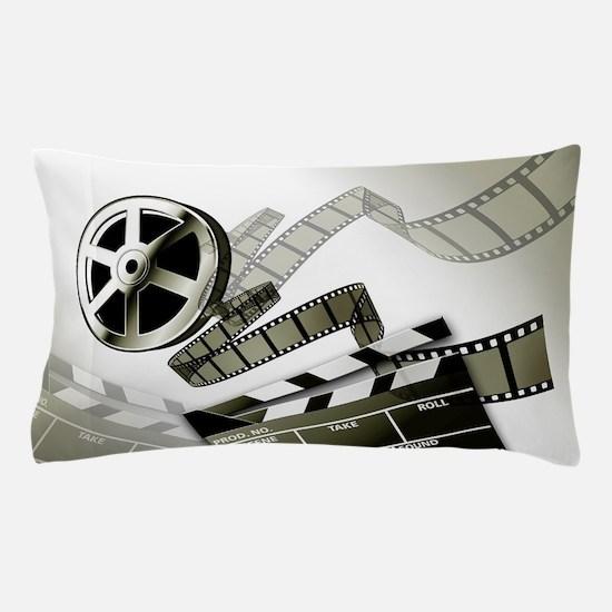 Retro Film Frames Pillow Case