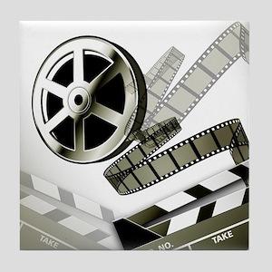 Retro Film Frames Tile Coaster