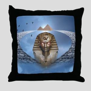 Pharaoh Fantasy Throw Pillow