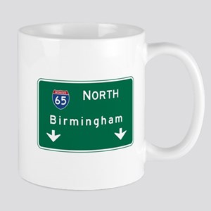 Birmingham, AL Road Sign, USA Mug