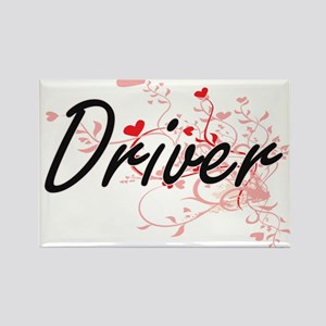 Driver Artistic Job Design with Hearts Magnets