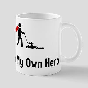 Lawn Mowing Hero Mug