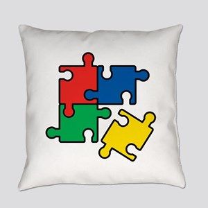 44. Jigsaw Puzzle Everyday Pillow