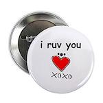 i ruv you Button