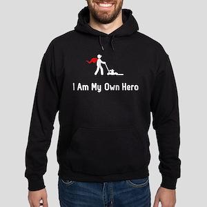Lawn Mowing Hero Hoodie (dark)