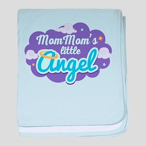 MomMom Little Angel baby blanket