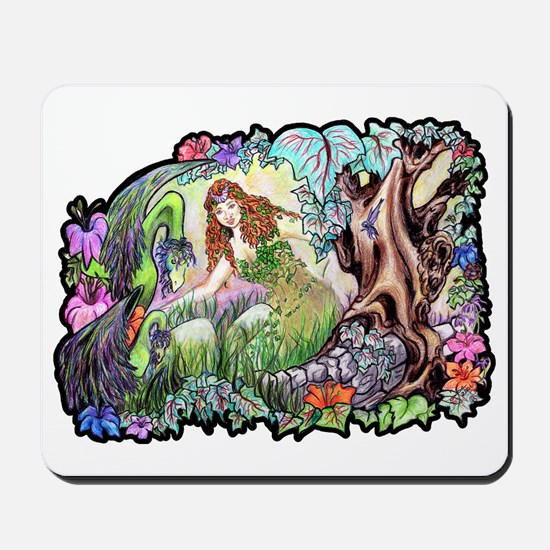 Dragons Of Eden Fantasy Mousepad