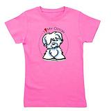 Coton de tulear Girl's Dark T-Shirt