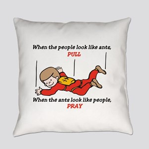 Skydiver Saying Everyday Pillow