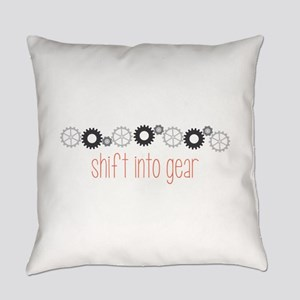 Shift into Gear Everyday Pillow