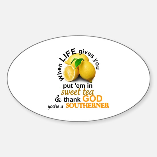 Cool Southerner Sticker (Oval)