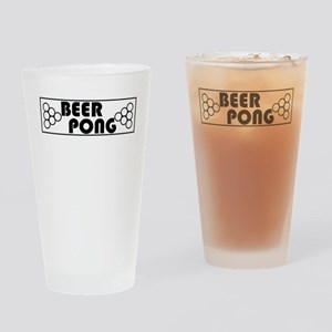 Beer Pong Table Drinking Glass