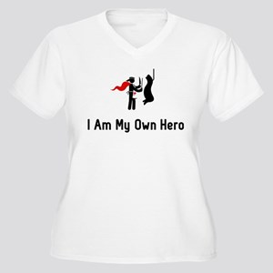 Meat Hero Women's Plus Size V-Neck T-Shirt