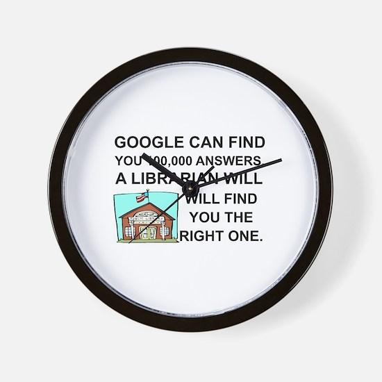 Unique Google Wall Clock