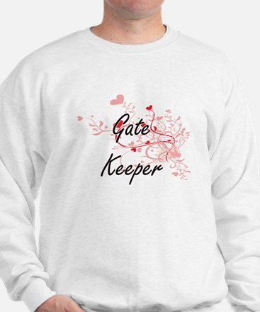 Gate Keeper Artistic Job Design with He Sweatshirt