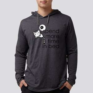 Bed Time Mens Hooded Shirt
