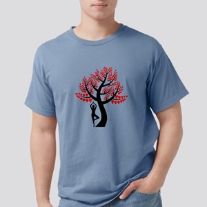 Heart Tree Mens Comfort Colors Shirt