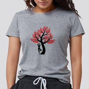 Heart Tree Womens Tri-blend T-Shirt