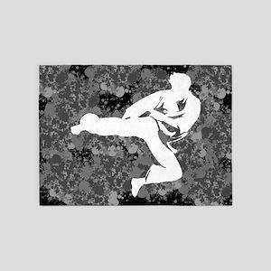 Karate 5'x7'Area Rug