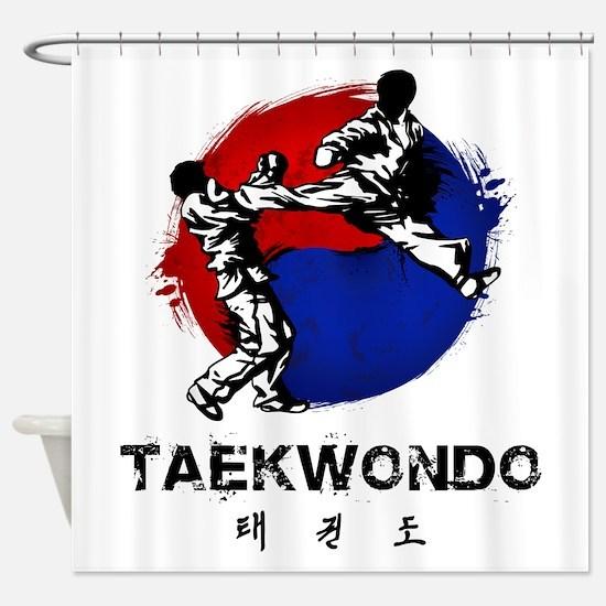 Taekwondo Shower Curtain