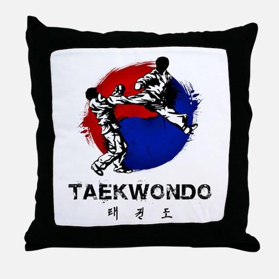 Taekwondo Throw Pillow