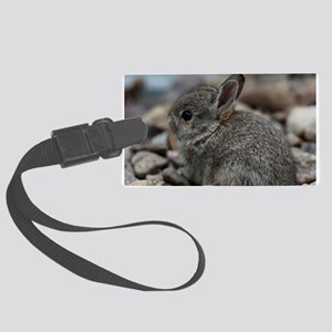 SMALL BABY BUNNY Large Luggage Tag