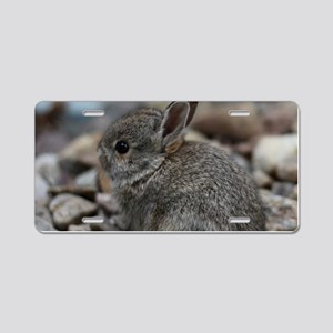 SMALL BABY BUNNY Aluminum License Plate