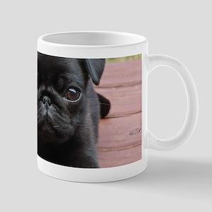 ALERT PUG PUPPY Mug
