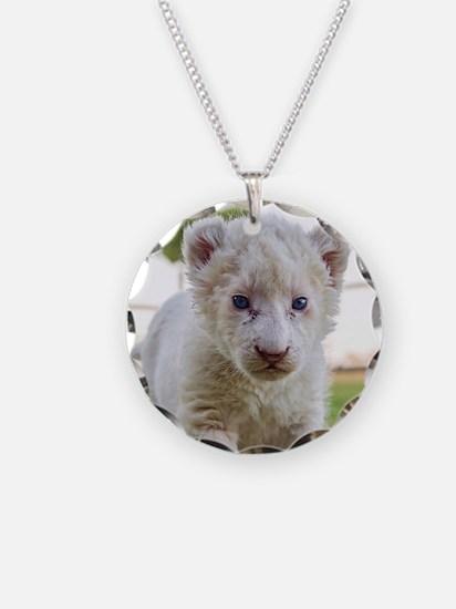 WHITE LION CUB Necklace