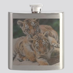 BABY TIGERS Flask
