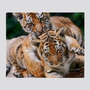 BABY TIGERS Throw Blanket