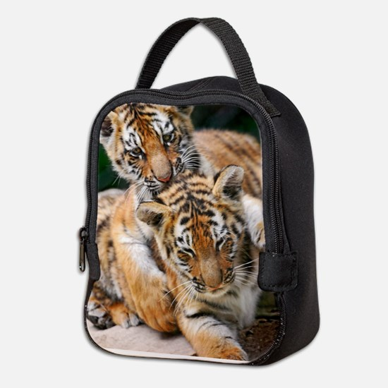 BABY TIGERS Neoprene Lunch Bag