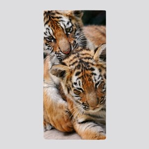 BABY TIGERS Beach Towel