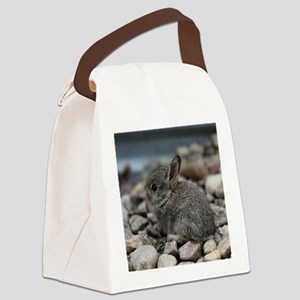 SMALL BABY BUNNY Canvas Lunch Bag