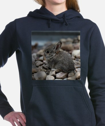 SMALL BABY BUNNY Women's Hooded Sweatshirt
