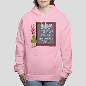 Bob's Burgers Burger of Women's Hooded Sweatshirt