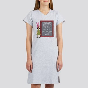 Bob's Burgers Burger of the Day Women's Nightshirt