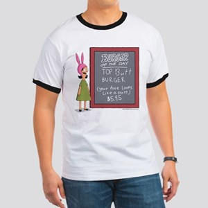 Bob's Burgers Burger of the Day Ringer T