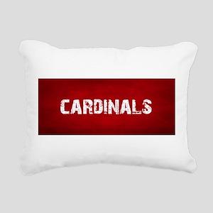 CARDINALS Rectangular Canvas Pillow