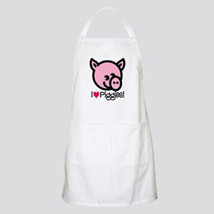 I Love Piggies! BBQ Apron
