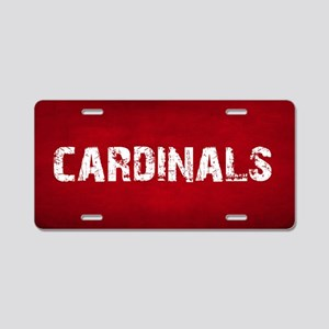 CARDINALS Aluminum License Plate