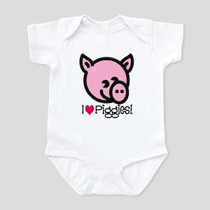 I Love Piggies! Infant Bodysuit